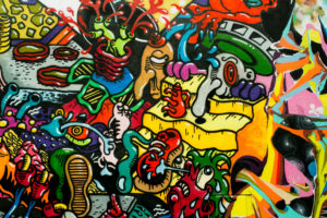 | graffiti art urbain